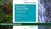 Buy Tom Burns Essential Study Skills: The Complete Guide to Success at University (SAGE Study