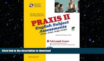 FAVORIT BOOK Praxis II English Subject Assessments 0041, 0042, 0043, 0049 (PRAXIS Teacher
