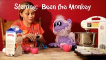 Beans Monkey Business: Beans Real Life Playing Outside w/Cars & Imagination!
