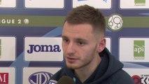 Avant St-Colomban Locminé - HAC en Coupe de France, interview de Sébastien Salles-Lamonge