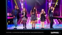 Téléthon : Le chanteur des Kids United inte le public à se le, gros malaise sur le plateau...