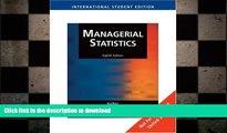 PDF ONLINE Managerial Statistics PREMIUM BOOK ONLINE