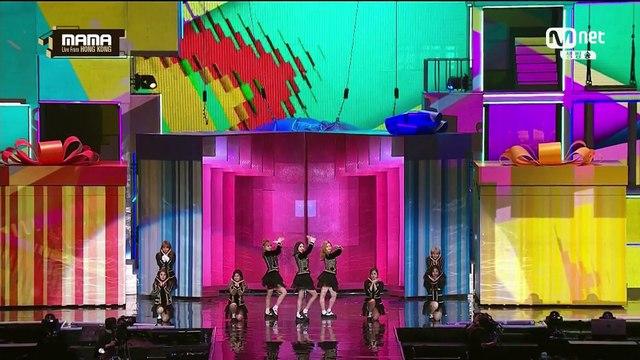 [16-12-02][MAMA] TWICE _ Happy Music Factory + CHEER UP + TT
