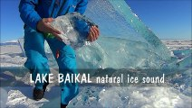 Listen to the sounds of the ice on Lake Baikal in Russia!