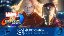 Marvel vs. Capcom: Infinite PSX 2016 Teaser Trailer