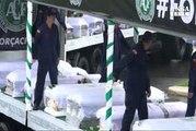 Tifosi in lacrime per ultimo saluto alla Chapecoense