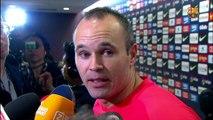 Les reaccions dels jugadors després del partit de lliga contra el Reial Madrid