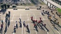 Concours flashmob UNSS Championnat du Monde de handball 2017, College André MALRAUX, MONTEREAU FAULT YONNE
