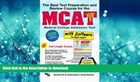 Hardcover The Best Test Preparation and Review Course for the McAt: With Computer Disks for Both