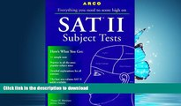 READ Everything You Need to Score High on Sat II: Subject Tests (3rd ed) Thomas H. Martinson Full