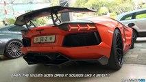 LOUDEST Lamborghini Aventador Start Up I've Ever Heard!!