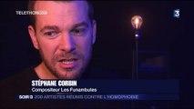 """""""Les funambules"""", un collectif d'artistes engagés contre l'homophobie"""