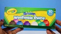 Lernen Sie Farben, Die Body-Paint-Finger Familie Kinderreime Lernen Farben Für Kinder