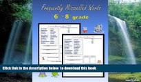 Buy C. Mahoney Frequently Misspelled Words (6th grade - 8th grade) Epub Download Download