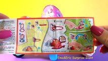 Kinder Maxi & Joy Surprise Eggs for Kids Hello Kitty Candy Chocolate by Ema&Eric Surprise Giant