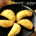 karanji recipe _ gujiya recipe _ karjikai recipe _ kajjikayalu recipe _ kayi kadubu recipe