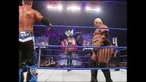 Charlie Haas & Rico With Miss Jackie vs Rikishi & Scotty Too Hotty WWE Tag Team Titles Match SmackDown 04.22.2004