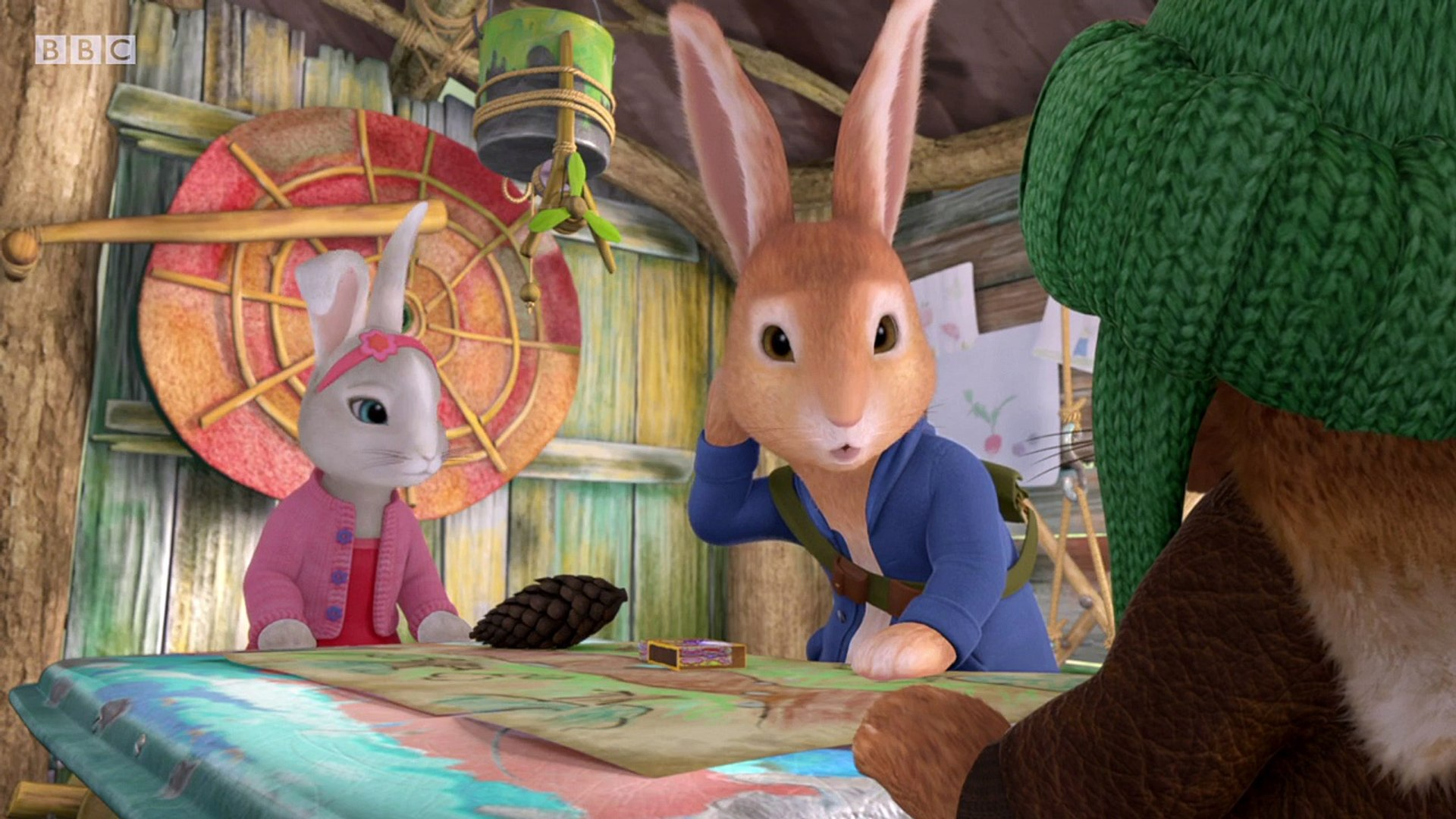 Peter Rabbit . s02e07 . The Tale of the Great Potato Blunder . children story cartoon cBeebies