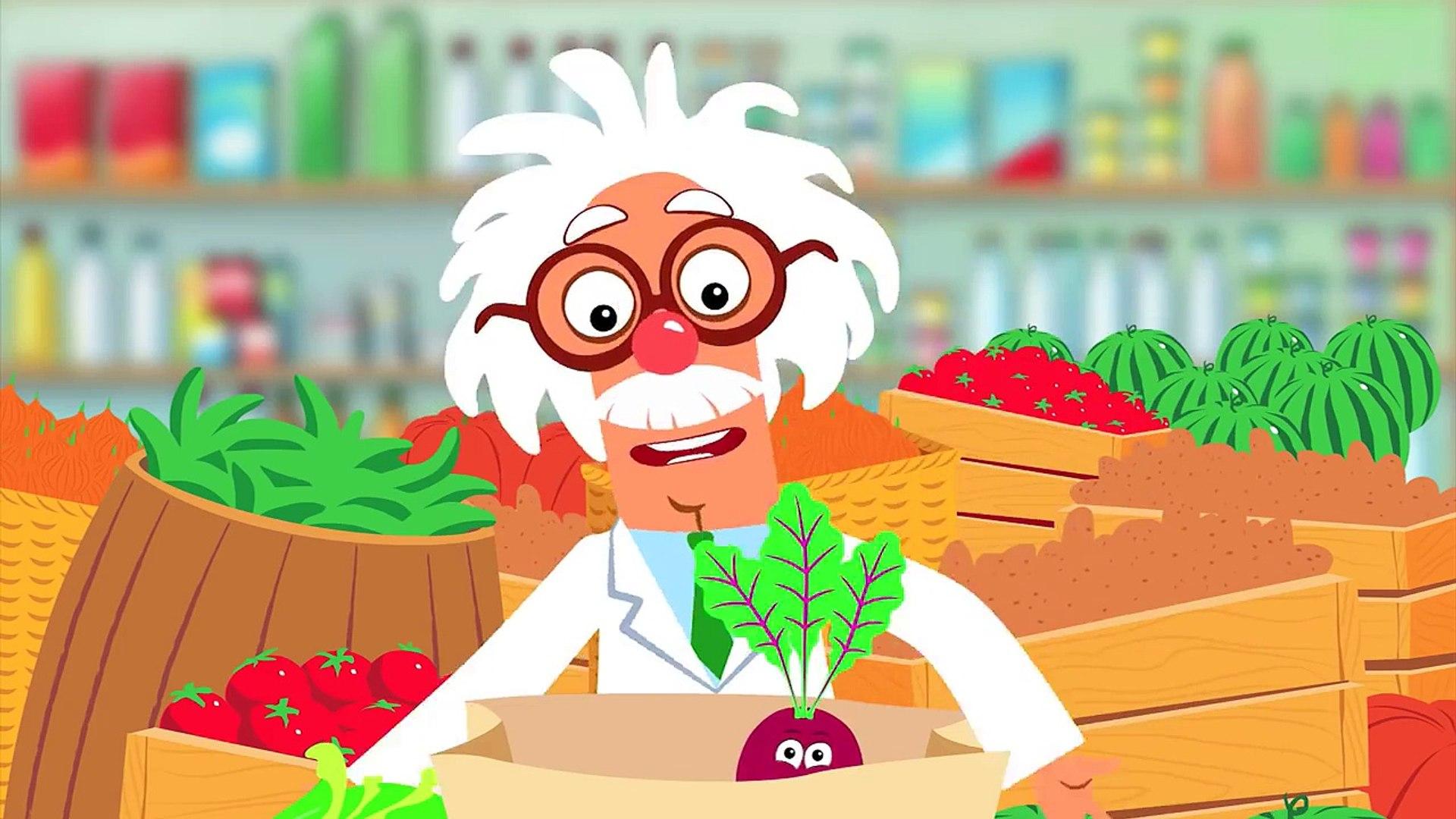веселая песенка про овощи