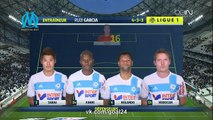 Marseille 	3-0	 Nancy