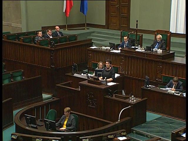 Poseł Dorota Rutkowska - Wystąpienie z dnia 29 listopada 2016 roku.