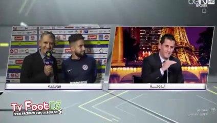 Quand Boudebouz est interviewé dans l'émission de Rafik Saïfi sur BeIN Sports