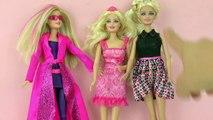 Comparaison de Barbies | Spy Squad vs. Barbie molle vs. Barbie standard | Avantages et Inconvénients