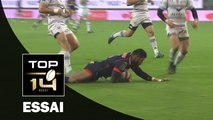 TOP 14 ‐ Essai Sisa WAQA (FCG) – Grenoble-Montpellier – J13 – Saison 2016/2017