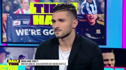 Half Time – Mehdi Abeïd, souvenirs de Newcastle – SFR Sport