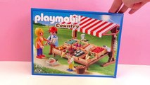 Playmobil 摩比游戏 6121 乡村生活系列 健康有机 蔬菜水果园 组装 展示