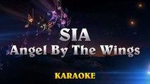 Sia - Angel By The Wings ¦ LOWER Key Piano Karaoke Instrumental Lyrics Cover Sing Along