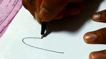 Simple mehendi design tutorial on Hands for beginners - learn to draw mehandi design on fingers 5