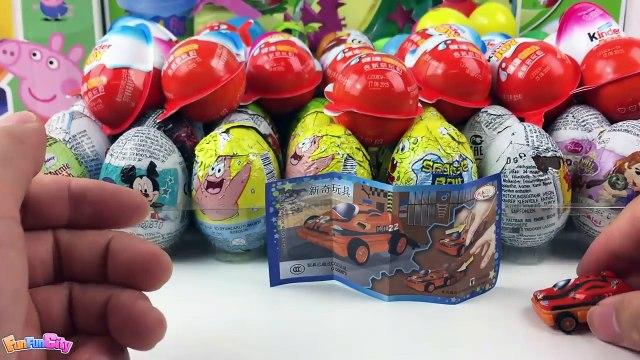 New Surprise Eggs Kinder Toy Surprise Eggs Hot Wheels Disney Princess Kinder Chocolate Surprise Eggs