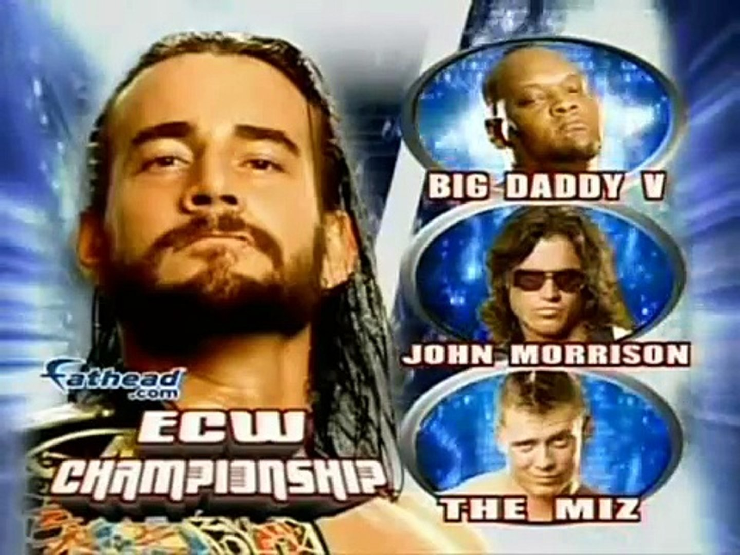 Wwe Cyber Sunday 2007 Match Card