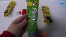 3 Surprise Lollipops (Pirulitoy) Angry Birds - 3 Colombinas Sorpresa Pirulitoy Angry Birds.