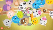 Kids Learn Farm Animals Names & Sounds - Toddler Kids Puzzle by Abuzz Educational Games For Children