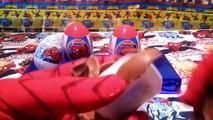 Uova Sorpresa Spiderman | Ovetti di Spiderman in italiano, video di uova kinder sorpresa spiderman.