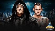 WWE WrestleMania 29: The Undertaker vs Cm Punk