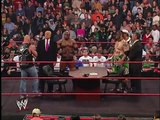 Mr. McMahon and Donald Trump's Battle of the Billionaires Contract part 3