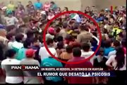 El rumor que desató histeria colectiva en Huaycán: audios revelarían de dónde viene el psicosocial