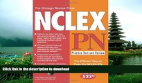 Pre Order The Chicago Review Press NCLEX-PN Practice Test and Review (NCLEX Practice Test and