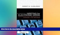 PDF  An Introduction to Writing for Electronic Media: Scriptwriting Essentials Across the Genres