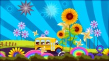 Wheels On the Bus Go Round and Round | Nursery Rhymes For Children by Nursery Rhyme Street