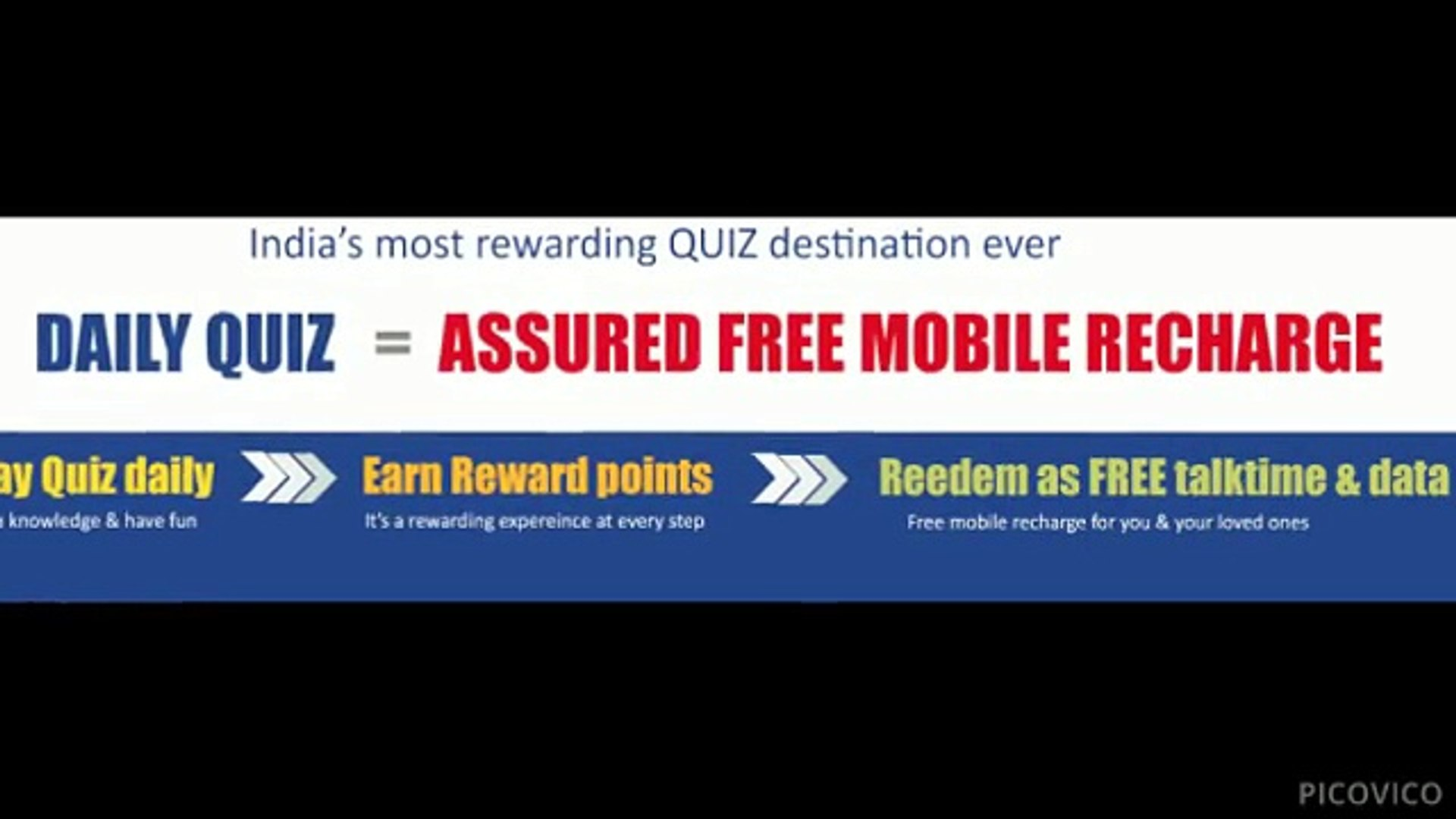 Win Free Mobile Recharge & Data by Quiz at ZingOye