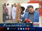 Commissioner Karachi media talks over Regent plaza incident