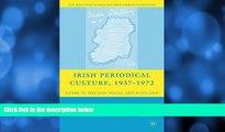 Buy M. Ballin Irish Periodical Culture, 1937-1972: Genre in Ireland, Wales, and Scotland (New
