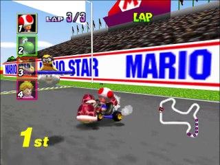 [TAS] Mario Kart 64 - All Cups - 1P, GP, 150cc in 20min