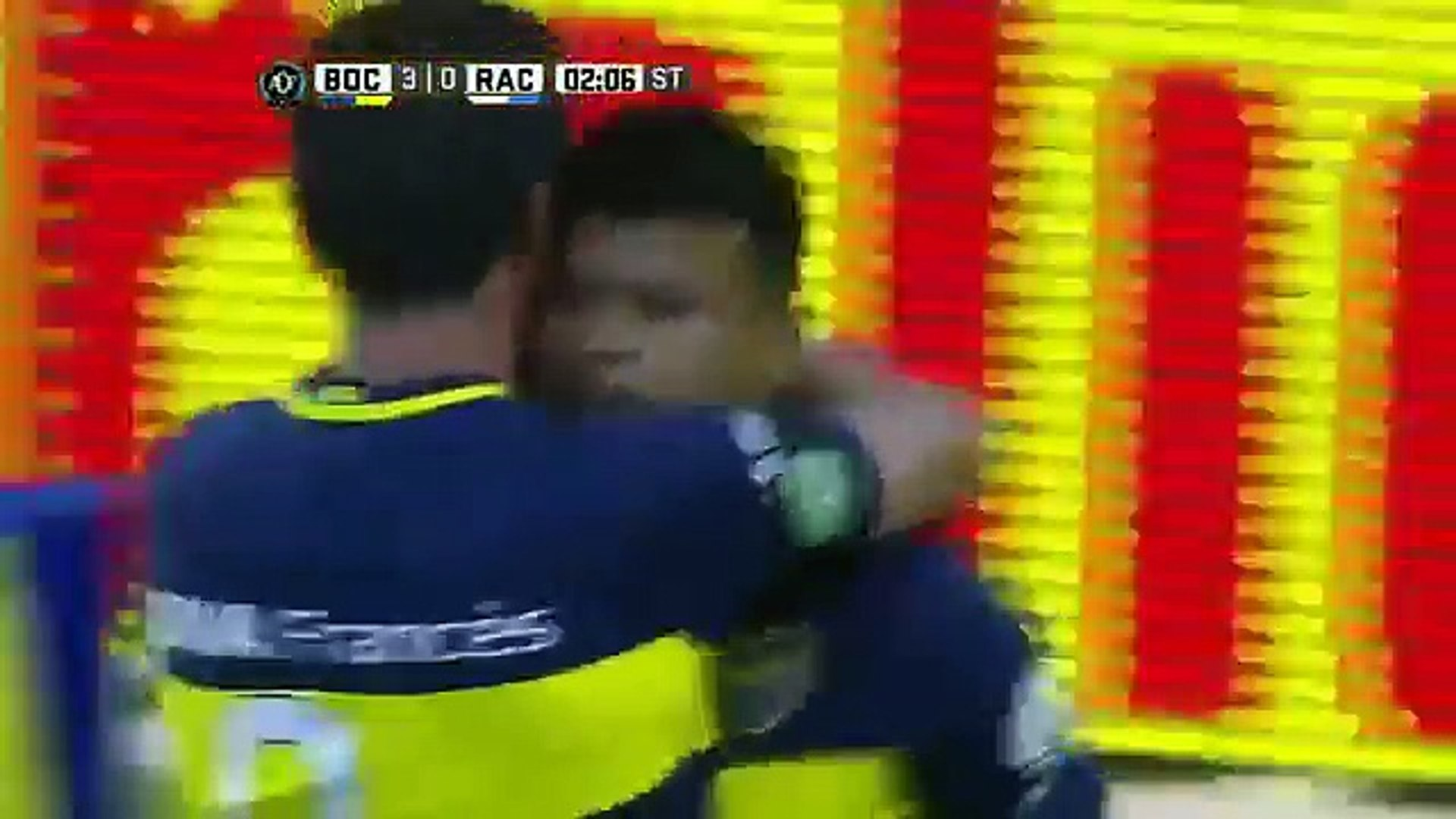 Liga Argentina 2016/17: J12 - Boca Juniors 4 - 2 Racing Club (04.12.2016)