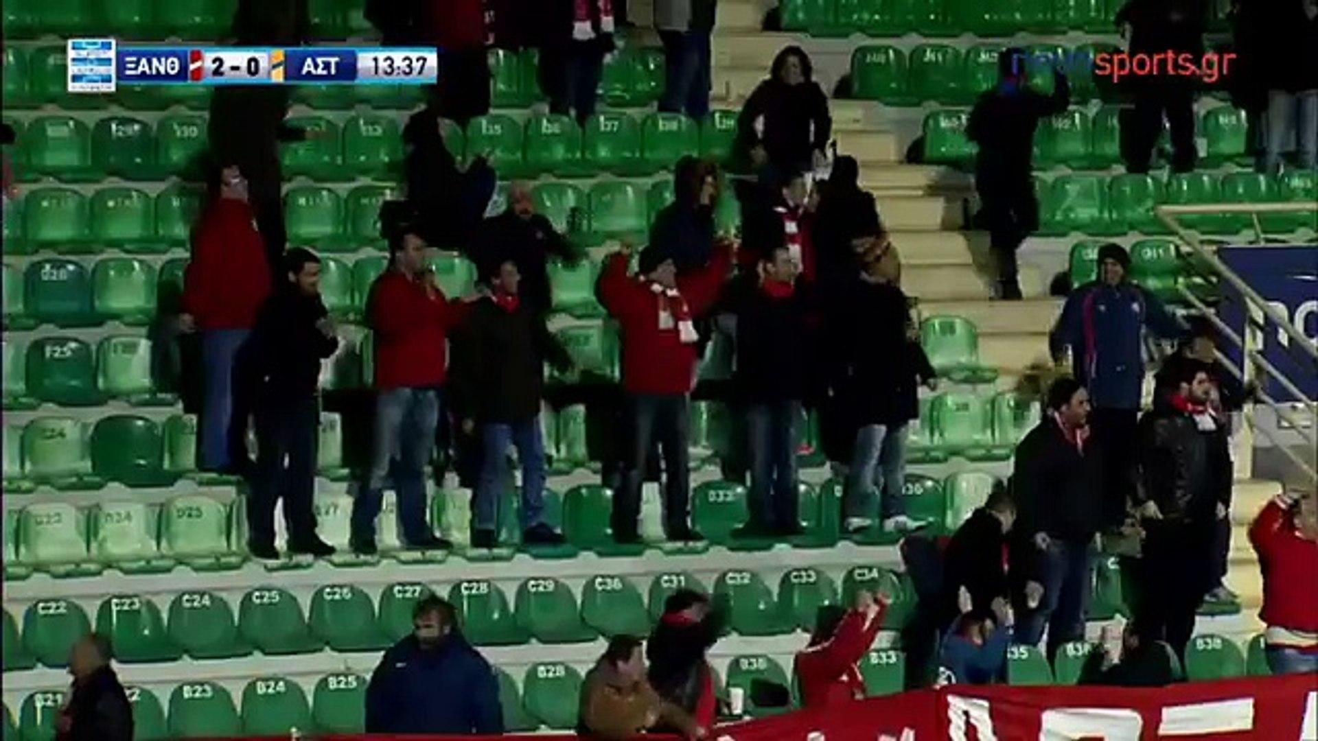 Superliga de Grecia 2016/17: J13 - Skoda Xanthi 3 - 1 Asteras (04.12.2016)
