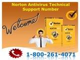 Norton Antivirus Technical Support Number 1-800-261-4071